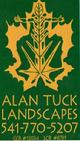 ALAN TUCK  LANDSCAPES,  Alan serves the Rogue Valley in Southern Oregon. Give Him a call at 541-770-5207.  Alan Tuck Landscapes is a business partner with Hooked On Palms which allows them to sell you palms and other plants at great prices. If they don�t have the exact Cold hardy palms you want in stock they can get them along with Cold hardy, bananas, bamboo, other exotic plants and specialty fertilizers to keep your plants healthy in our Southern Oregon environment. They also are experts on the proper pruning, planting and care of Palms for the RogueValley.